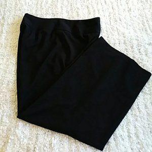 Lane Bryant Black Slacks Size 16
